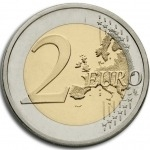 2 Euros (30 Years after the fall of the Berlin Wall)