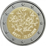 2 Euros (Centenary of the Tartu Peace Treaty)