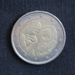 2 Euro (100 Years since the Death of Auguste Rodin)
