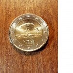 2 Euro (30th Ann. of the Latvian Ornithological Society)