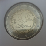 2 Euro (20th anniversary of the Visegrad Group)