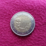 2 Euro (DeGaulle's Radio Speech on June 18th - 1940)