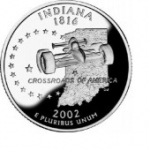 25 Cents / Quarter (Indiana)