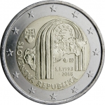 2 Euros (25th anniversary independence Slovakia)