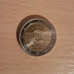 2 Euro (The 70th anniversary of the Bundesrat's founding)