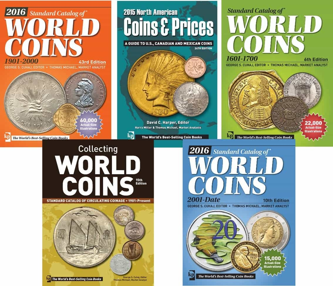 World coin catalogs