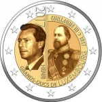 2 Euro (200th Anniversary of the birth of the Great Duke Guillermo III)