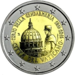 2 Euro (Bicentenary of the Vatican Gendarmerie)