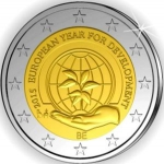 2 Euro (European Year for Development)