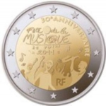 2 Euro (30th anniversary of the Day of Music)