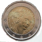 2 Euro (Fifth centenary of Sandro Botticelli's death)