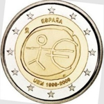 2 Euro (10th Anniversary of the Economic Monetary Union)