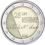 2 Euro (25 years of independence)