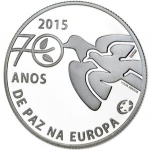 2.50 Euro (70 years of peace in Europe)