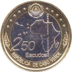 250 Escudos (50th anniv. of the formation of the Org...)