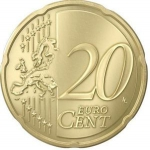 20 Euro Cent (Greater Coat of Arms)