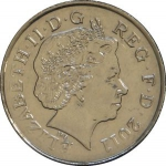 10 Pence (Magnetic) IRB