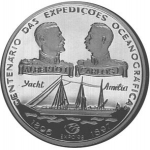 1,000 Escudos (100th Anniv.- Portuguese Oceanic Expedition)