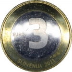 3 Euro (Independence, 20th Anniversary)