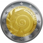 2 Euro (The Special Olympics - Athens 2011)