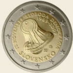 2 Euro (20th Anniversary of Velvet Revolution)