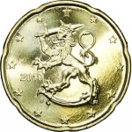 20 Euro Cent (2nd map)