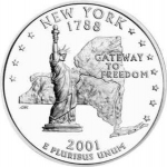 25 Cents / Quarter (New York)