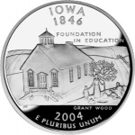 25 Cents / Quarter (Iowa)