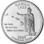 25 Cents / Quarter (Hawaii)