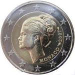 2 Euro (Princess Grace)