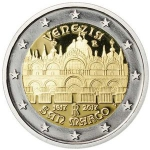 2 Euro (400 years since the completion of St Mark