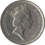 5 Pence (Reduced size)