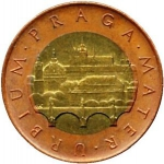 50 Korun (The Mother of Towns Prague)