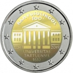 2 Euros (Centenary of the foundation of the Estonian University)