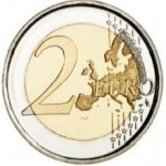 2 Euros (25th anniversary of the end of the restoration of the Sistine Chapel)